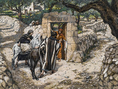 One of the paintings by James Tissot